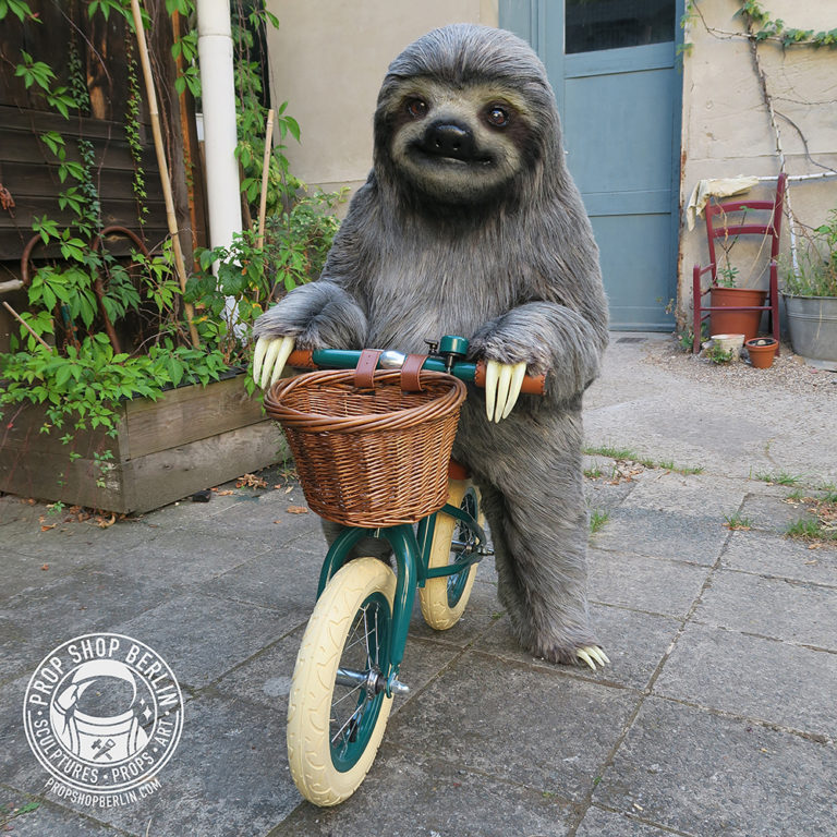 Sloth on Bike